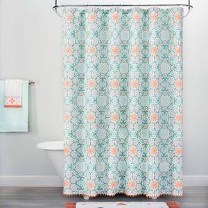 Shower curtain - opal house